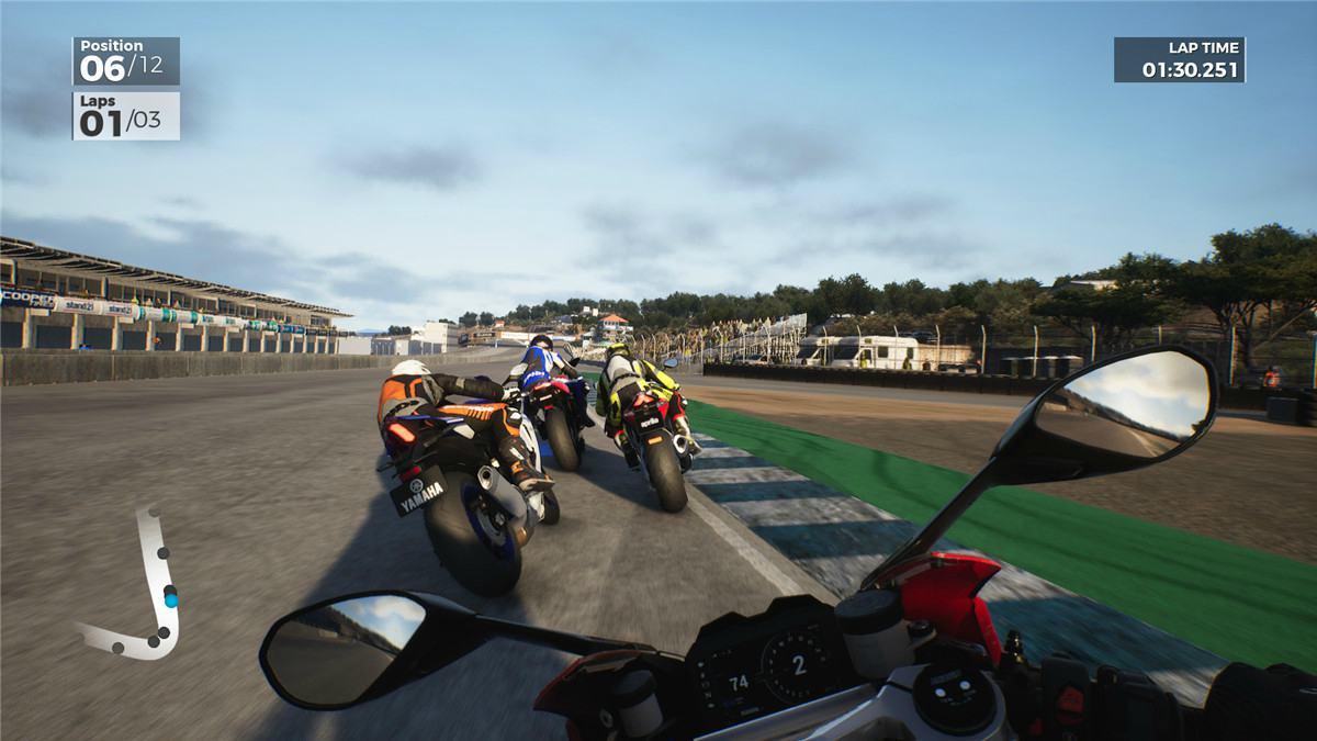 机车迷必玩游戏《极速骑行3》 画面超逼真炫酷