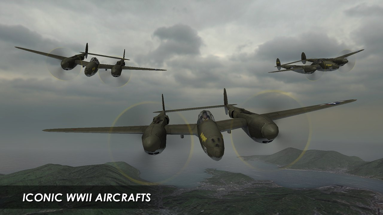 钢铁之翼飞机空战游戏 逼真刺激无限金币