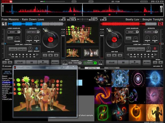 VirtualDJ混音软件专业版 多声卡易上手DJ爱好者必备