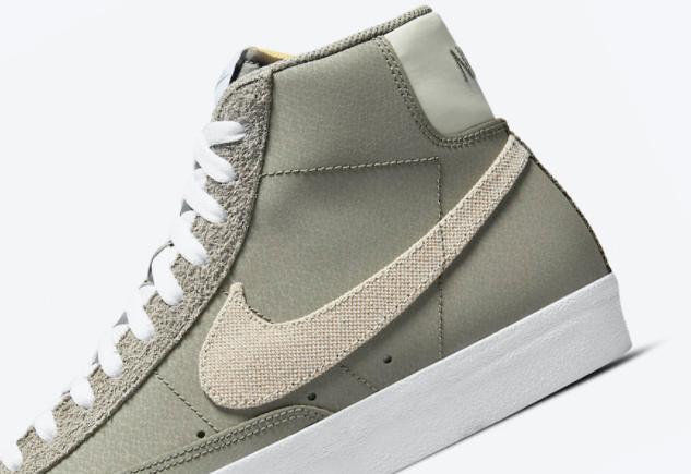 Nike Blazer Mid 77 全新深灰配色!绒面革皮革多材质