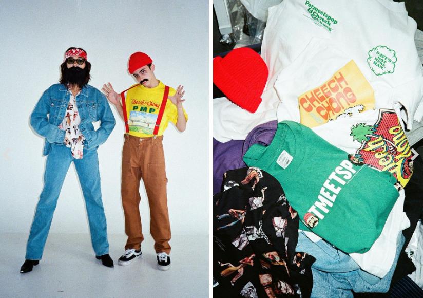 喜剧二人组 Cheech & Chong联乘系列服饰发售