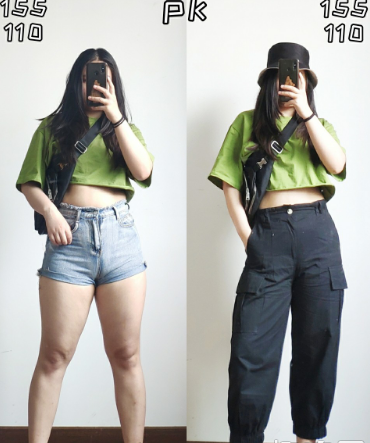 梨型身材穿工装裤搭配  适合梨型身材的裤型