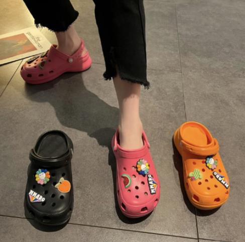 洞洞鞋配饰怎么安装 洞洞鞋配饰diy穿法